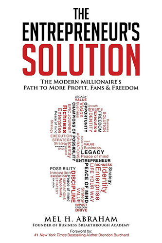 book-cover-the-entrepreneurs-solution-mel-abraham