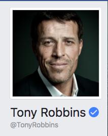 Tony Robbins Facebook