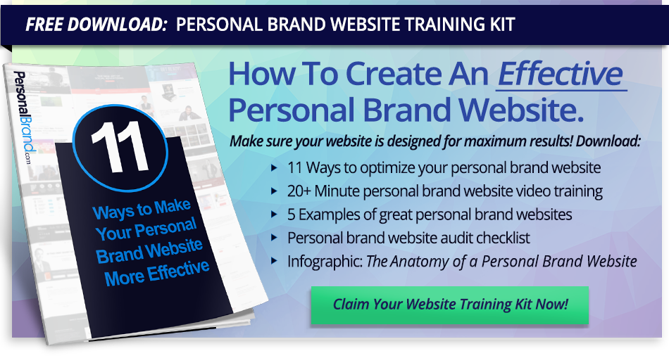Click here to download your Personal Brand Website Kit